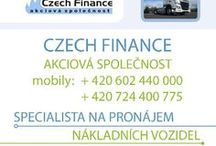CZECH FINANCE a.s.-specialista na pronájem nákladních vozidel #OnlineBusiness #OnlineMarketing #Top / Specialista na pronájem nákladních vozidel.
