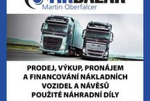 TIRBAZAR - Martin Oberfalcer - prodej, výkup, pronájem a financování nákladních vozidel a návěsů / Prodej nákladních vozidel a návěsů a náhradních dílů na nákladní vozidla a návěsy DAF, Volvo, Scania, Mercedes, MAN, Renault, Iveco, Schmitz, BPW, SAF. Nabízíme autobaterie, disky, pneumatiky, alternátory, chladiče, blinkry.