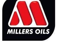 Millers Oils / Anglická rodinná firma Millers Oils Ltd. vyrábí od roku 1887 vysoce kvalitní oleje, maziva, aditiva pohonných hmot a další speciální přípravky pro širokou škálu aplikací v motorismu a průmyslu. Všechny produkty jsou vyvinuty, vyrobeny a baleny v jediném závodě Millers Oils v Anglii a jedná se tak o originály firmy Millers Oils Ltd.