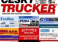 CZECH TRUCKER - ONLINE / CZECH TRUCKER – a magazine for promoting sales of trucks and commercial vehicles - buses - delivery vans - trailers - municipal and handling equipment – container carriers - construction and agricultural machinery - industrial machinery - spare parts and accessories.Look at our Social Media sites on Google+, Facebook, Twitter, Flickr, Pinterest and Instagram.