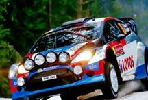 Rally / Rallies are incredible. They test the car and the skills of the driver.