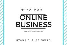 Online Business Tips / Discover how to build your business online with this collection of pins from #DigitalFreak #onlinemarketing #onlineadvertisement #business #digitalcontent #digitalmarketing