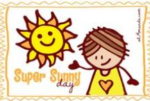 Super Sunny Day / Based on my Super Sunny Day blog series--you'll find pins of sunshine crafts, summertime games, sidewalk chalk activities, bubbles galore and a few SUNNY pretties for fun!
