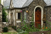Glow's Dream; Cottages & Homes / styles; english, whimsical, romantic, fairytale, stone, cape cod, chateau, etc....