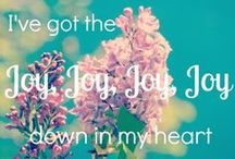"Oh Joy! / Sing it with me! ""I've got the joy, joy, joy, joy down in my heart. Down in my heart to stay!""   ""Joy is a net of love by which you can catch souls."" ~Mother Teresa"
