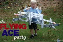 Asa's Flying Ace Party! / An active airplane party for my Flying Ace!