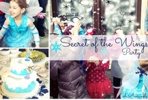 Tinkerbell & Periwinkle {Secret of the Wings} Party / A frosty, snowy, fairy party for my Lydia!