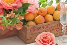 COLOR ME: Shades of Orange / Coral. Orange. Salmon. Peach. Wedding & Event Inspiration