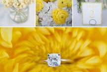 COLOR ME: Shades of Yellow / Wedding & Event Inspiration