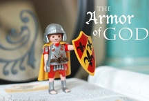Armor of God / Activities, printables, music, books & more to help kids learn and experience the Armor of God in Ephesians 6. Blogging our Armor of God adventures at ohAmanda.com.