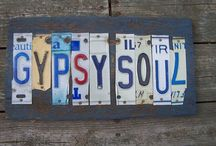 GYPSY SOUL (my future shop) / In the near future I am opening a craft shop. So, looking for decorating ideas! :)
