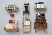 Doll House Miniatures / DIY - Items you can make for your Doll House, Barbie and other fashion dolls. With a few inspiration pictures and some I can only dream of making... / by Ida Pie