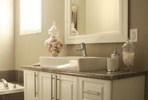 bathroom ideas / by Genie Hurd