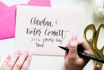 Brush Calligraphy / Calligraphy, Brush Calligraphy, Watercolor Calligraphy, and Hand Lettering