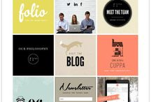 digital / Website designs I like and all things digital