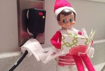 Elf on the Shelf / Ideas for Santa's funny, little helper