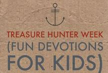 Treasure Hunter / Fun Treasure Hunter themed activities for kids! Pirates, geocaching, spies and more!