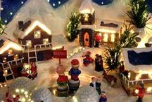 DECOR: Mantels, Nativities, Villages and More