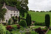 English Cottage / adoro la campagna inglese e i suoi cottage! unico aspetto negativo: piove tantissimo...