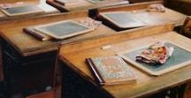 School equipments of the 1900 / During the years not only the way of teaching changed...