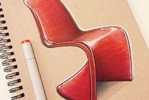 Ilustração Design de Interiores