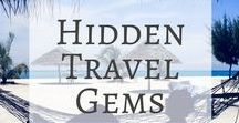 Hidden Travel Gems / Everyone wants to travel to somewhere hidden and untouched by modern tourism, but it can be hard to find these types of places. This board explores some of the roads less travelled and destinations that are only just being discovered. Check out these for hidden travel gems and inspiration for places you may have never heard of before.