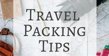 Travel Packing Tips / Stuck with an overflowing suitcase or backpack? Find out the best travel packing hacks with tips and tricks from travellers just like you! Also how to manage those pesky hand luggage restrictions.