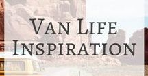 Van Life Inspiration / 'Life on the road' means different things to different people. For some, it means actually living in a converted van or truck. Here you'll find inspiration for van life designs, converted van layouts and space saving ideas... as well as some great stories from people who permanently live life in their mobile homes.