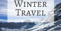 Winter Travel / Whether you're a skier, snowboarder or just enjoy feeling all toasty next to an open fire, winter is such a great time to travel. Here you'll find all the best winter destinations, ski trip intinerary ideas, travel packing tips for keeping warm and some hidden winter destinations that you haven't considered before.