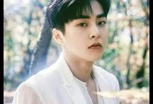 Kim Min Seok ❤ | EXO / •	Xiumin •	Lead Vocalist, Lead Dancer, Rapper •	March 26, 1990 •	Super Power: Frost (Snowflake)