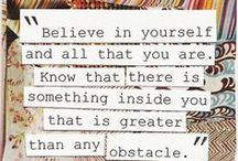 Quoteworthy / by Becky Dolan