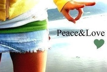 Peace and love kind of girl  / yep i am a peace and love kinda girl , i want to change the world and have fun doing it