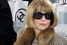 ♥ Anna Wintour ♥ / Somethings like a fine wine, only get better with age...  / by Cory Willet