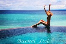 """Travel Bucket list!! / Haven't Been Everywhere Yet But Its On My List... and One Day I will go there. Having a """"Bucket List"""" is a great way to live life to the fullest. / by Heather Gish"""