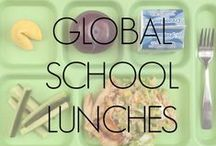 Global School Lunch Photos / Photos of school lunches from all over the world! Send yours to us at foodrevolution@jamieoliver.com to be added.