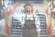 Why Join Us?! Facts & Sources / Sources and references for the statistics and facts found on our Food Revolution homepage and sign the petition page. www.jamiesfoodrevolution.com