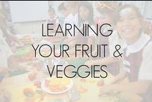 Learning Your Fruit & Veg / The Jamie Oliver Food Foundation (USA) 'Learn Your Fruits and Vegetables' program consists of 14 fresh fruit and vegetable lesson plans. Each lesson plan focuses on a particular fruit or vegetable along with a recipe and fun facts.   This course builds a foundation to get anyone eating more fruits and vegetables and to trying new ones they are not so familiar with, while also learning about where the fruit and veg comes from and why they are good for them.  www.jamieoliverfoodfoundation.org