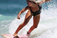 Surf Girl / ♖ PINTEREST.com/BrandMagazine♖