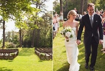 Outdoor Weddings / We love attending outdoor weddings, with nature as the main decoration.