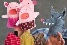 Back to (Pre)School -- Nursery Rhymes and Fairy Tales / by Carolyn Mensch