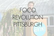 Food Revolution Pittsburgh / In 2012, Jamie Oliver joined One Young World in Pittsburgh, and talked about real food and in doing so he brought the Food Revolution. Visit foodrevpgh.com for more information! / by Food Revolution