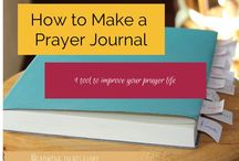 Prayer / Pins to help me be intentional with my prayer time