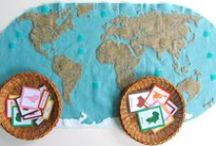 Back to (Pre)School - Around the World / by Carolyn Mensch