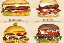 Food - Cheeseburgers & Bar Food! / Cheeseburgers, hamburgers, french fries and more...