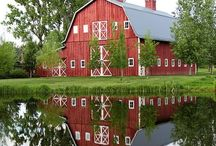 Architecture - Barns!!! 36d5.com / Red barns, blue barns, green barns... Big barns, small barns... Barns barns barns!!!