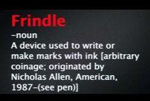 Frindle / by Elaine Berman