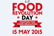 Food Revolution Day 2015 / Let the countdown begin! Food Revolution Day is May 15, 2015. Join the fight for food education for every child and make sure to sign the petition at www.change.org/JamieOliver! Don't forget to share it!