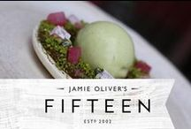 Jamie Oliver's Fifteen / Set up in 2002, Jamie Oliver's Fifteen is a restaurant that uses the magic of food to give young people the chance to have a better future.
