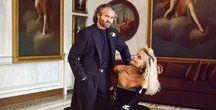 ♉ Donatella Francesca Versace ♉ / Artistic Director & V.P., Gianni Versace S.p.A. #Versace #VersusVersace #VersaceWoman www.donnatellacosmetics.com www.versace.com