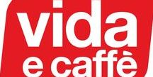 Coffee is Life at Vida e' caffe' / This board is a visual representation of Vida e caffe and the wonderful coffee we make! Not only do we make a great cup but we also do it with a smile.